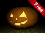 3D Pumpkin Screensaver - Windows 10 Holiday Screensavers