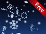 3D Winter Snowflakes Screensaver - Download Windows 10 Screensavers