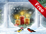 Christmas Candles Screensaver - Windows 10 Christmas Screensavers