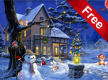 Christmas Fantasy Screensaver - Download Windows 10 Screensavers