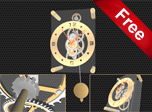 Pendulum Clock 3D Screensaver - Download Windows 10 Screensavers