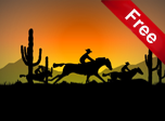 Cowboy Ride - Windows 10 Effects Screensavers