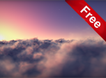 Flying Clouds Screensaver - Windows 10 3D Clouds Screensaver