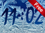 Frost Clock Screensaver - Windows 10 Clock Screensavers