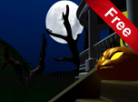 Dark Halloween Night 3D - Windows 10 3D Screensavers