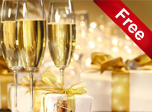Holiday Champagne - Windows 10 New Year Screensavers