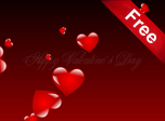 Flying Valentine Screensaver - Windows 10 Valentine Screensavers