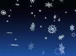 3D Winter Snowflakes Screensaver - Windows 10 3D Snowfall Screensaver - Screenshot 2