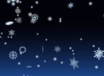 3D Winter Snowflakes Screensaver - Windows 10 3D Snowfall Screensaver - Screenshot 3