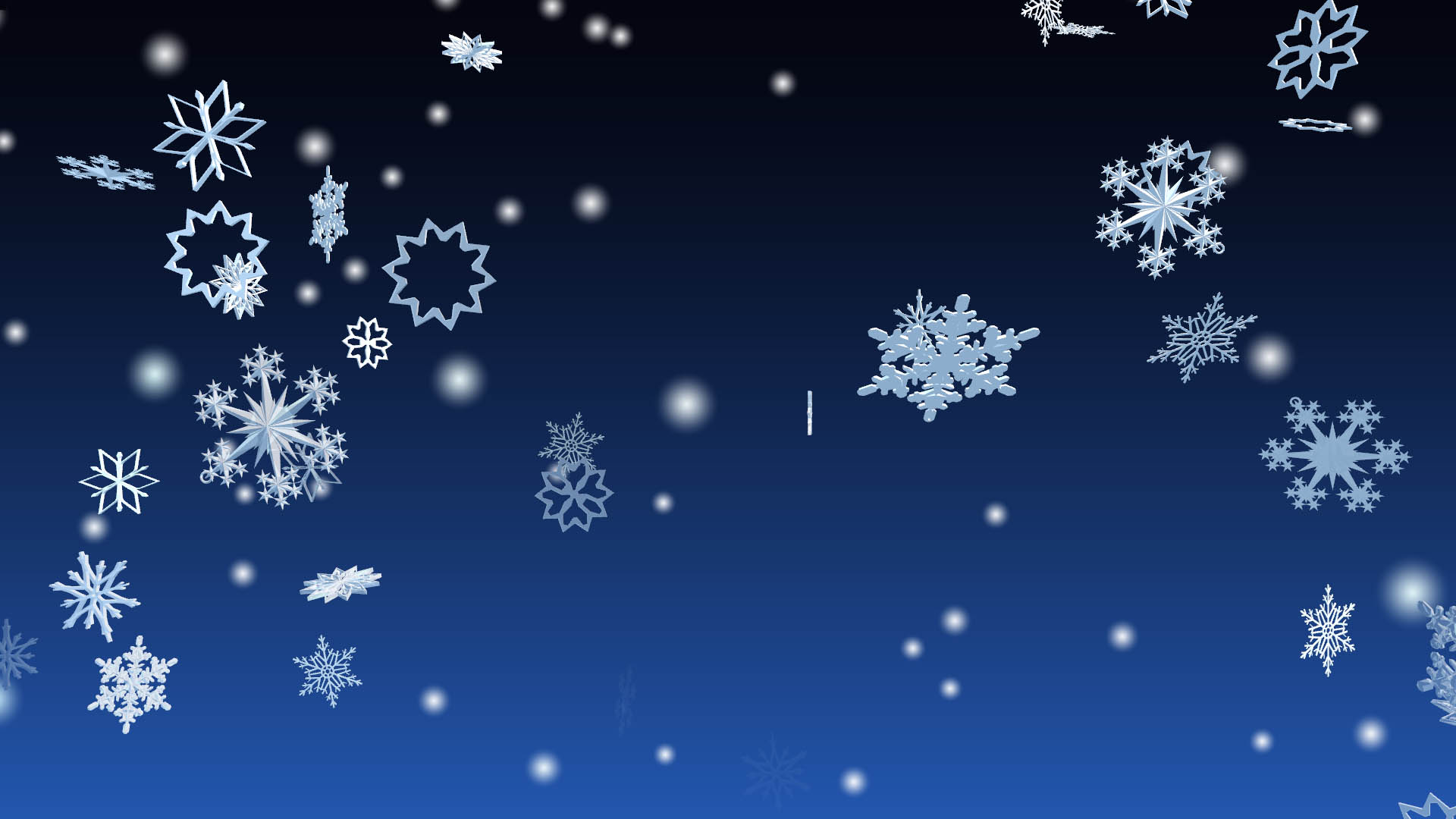 Windows 10 3d snowfall screensaver 3d winter snowflakes - Animated screensavers for windows 10 ...