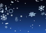 3D Winter Snowflakes Screensaver - Windows 10 3D Snowfall Screensaver - Screenshot 4