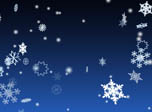 3D Winter Snowflakes Screensaver - Windows 10 3D Snowfall Screensaver - Screenshot 5