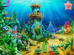 Aqua Castles - Windows 10 Free Aqua Screensaver - Screenshot 3