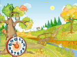 Autumn Clock Screensaver - Windows 10 Free Autumn Screensaver - Screenshot 1
