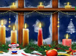 Christmas Candles - Windows 10 New Christmas Scrensaver - Screenshot 2