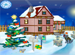 Christmas Yard Screensaver - Download Christmas Screensaver for Windows 10 - Screenshot 1