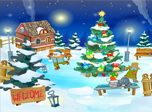 Christmas Yard Screensaver - Download Christmas Screensaver for Windows 10 - Screenshot 3