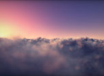 Flying Clouds Screensaver - Windows 10 3D Clouds Screensaver - Screenshot 1