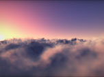 Flying Clouds Screensaver - Windows 10 3D Clouds Screensaver - Screenshot 2