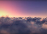Flying Clouds Screensaver - Windows 10 3D Clouds Screensaver - Screenshot 3