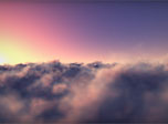 Flying Clouds Screensaver - Windows 10 3D Clouds Screensaver - Screenshot 4