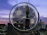 New York Clock Screensaver - Windows 10 Analog Clock Screensaver - Screenshot 1