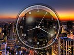 New York Clock Screensaver - Windows 10 Analog Clock Screensaver - Screenshot 3