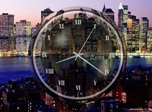 New York Clock Screensaver - Windows 10 Analog Clock Screensaver - Screenshot 4