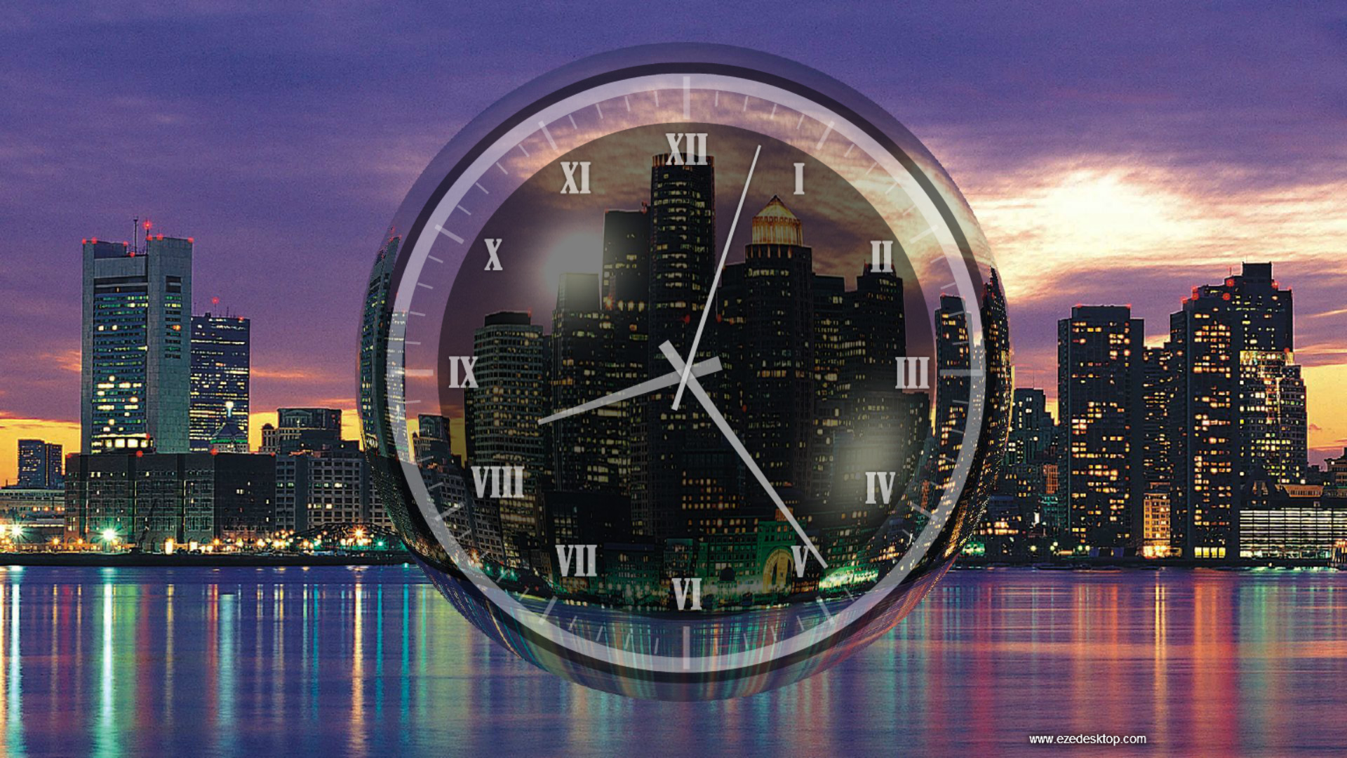 Windows 10 Analog Clock Screensaver