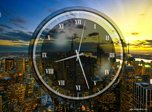 New York Clock Screensaver - Windows 10 Analog Clock Screensaver - Screenshot 9