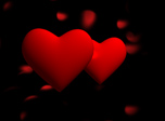 Romantic Holiday 3D Screensaver - Windows 10 Hearts Screensaver - Screenshot 1