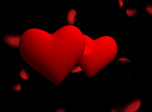 Romantic Holiday 3D Screensaver - Windows 10 Hearts Screensaver - Screenshot 2
