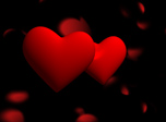 Romantic Holiday 3D Screensaver - Windows 10 Hearts Screensaver - Screenshot 3