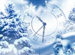 Snowfall Clock Screensaver - Windows 10 Snowfall Screensaver - Screenshot 1